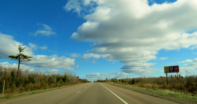 Along the Highway Moncton, New Brunswick Canada