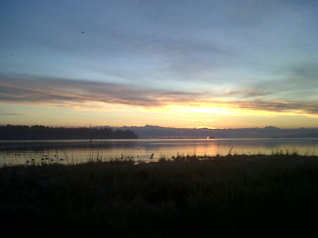 Sunrise Courtenay, British Columbia Canada