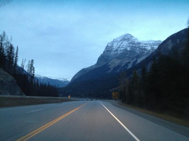 mountain view Burnaby, British Columbia Canada