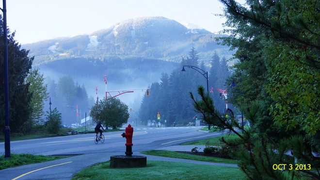 Early Morning Mist Whistler, British Columbia Canada