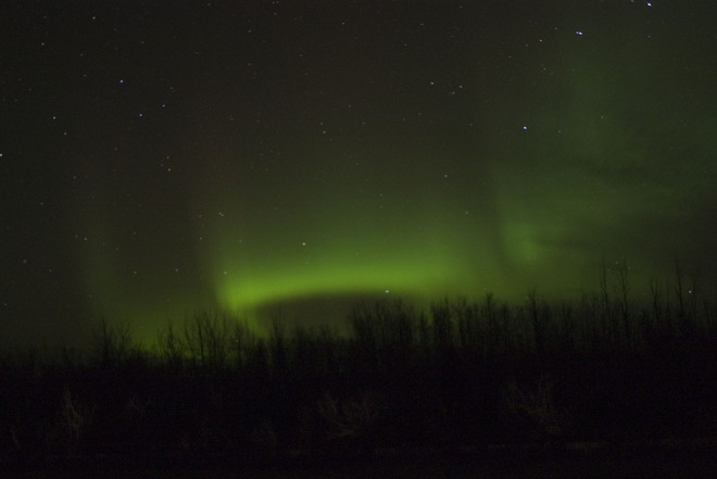 11/3/13 Northern Lights High Level, Alberta Canada