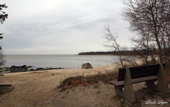 Cold Victoria Beach Victoria Beach, Manitoba Canada