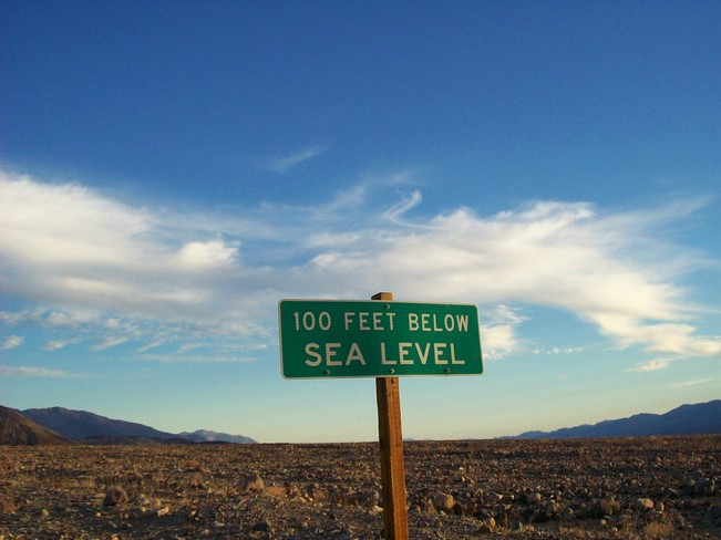 This is True Death Valley, California United States