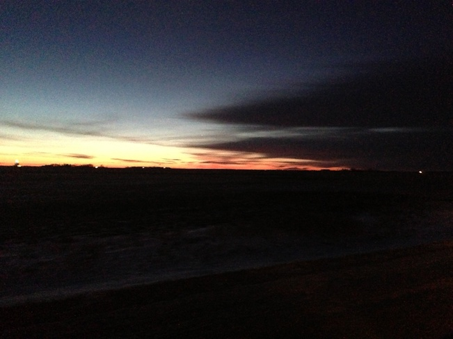 Calm Sunrise Indus, Alberta Canada