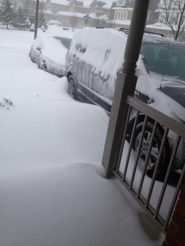 storm Mississauga, Ontario Canada