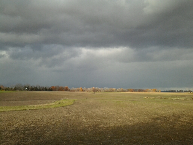 Grey Skies Over Lincoln Lincoln, Ontario Canada