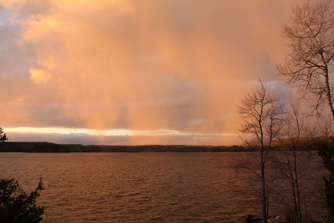 End of the storm Blind River, Ontario Canada