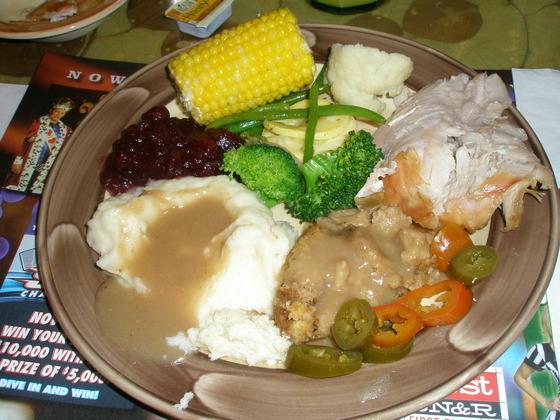 Thunder Valley Thanksgiving Dinner Buffet