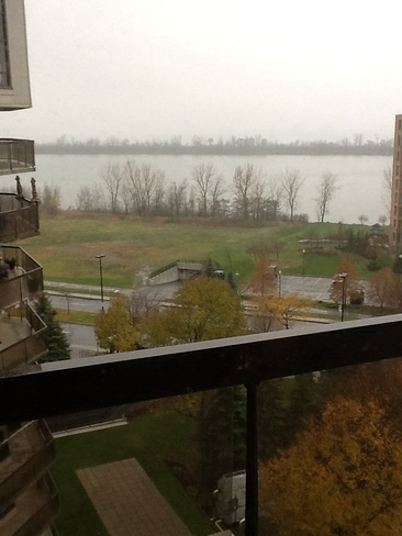 view from my condo Brossard, Quebec Canada