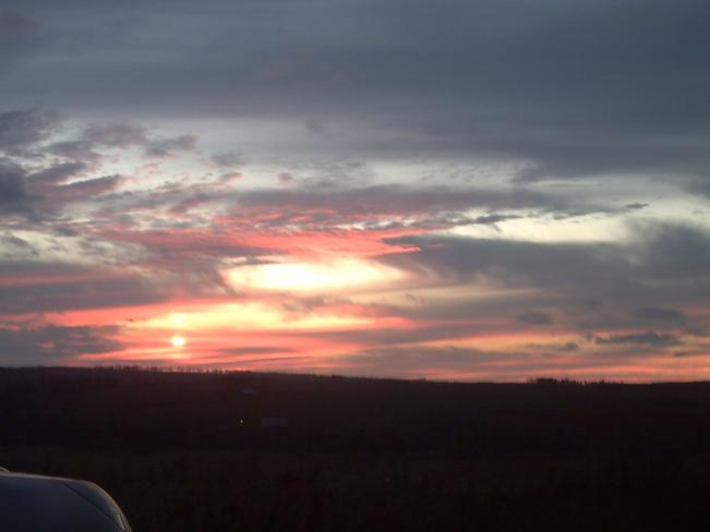 sunset Truro, Nova Scotia Canada