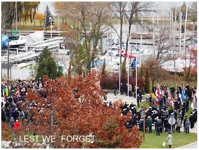 Lest We Forget... Oakville, Ontario Canada