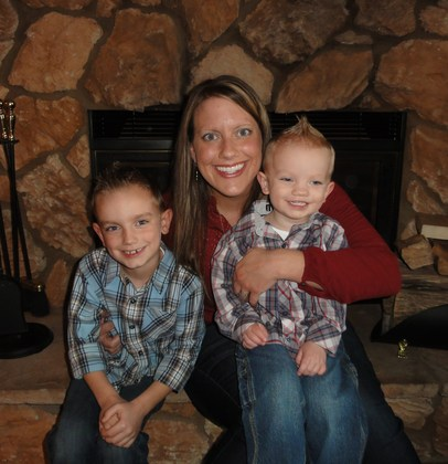 Mama and her 2 Turkeys:) Thanksgiving 2012