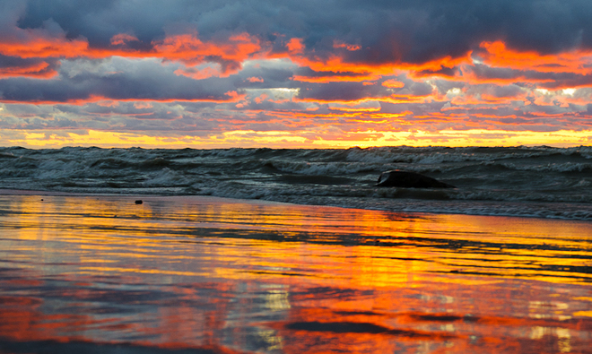 Another Bayfield Sunset.... Bayfield, Ontario Canada
