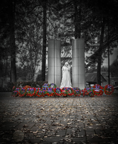 Lest we forget Langford, British Columbia Canada