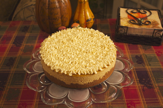 Yummy Pumpkin Cheesecake!