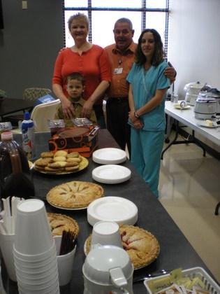 WRMC Willard Walker Hospice House Celebrates Thanksgiving