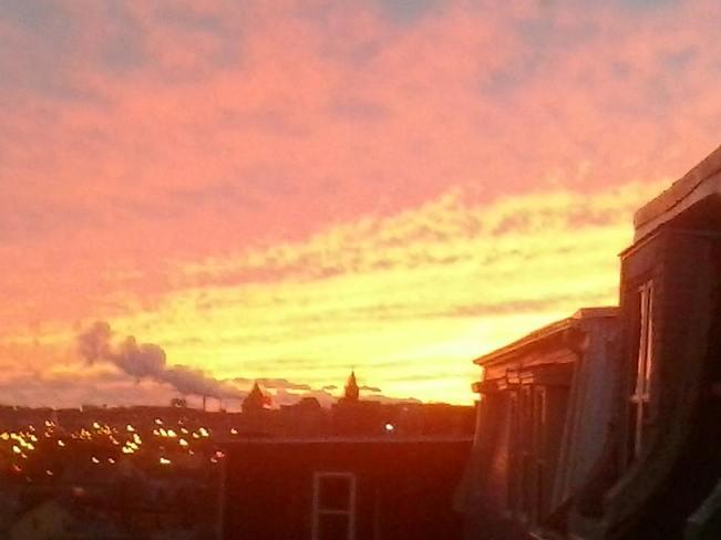 November Sky Saint John, New Brunswick Canada