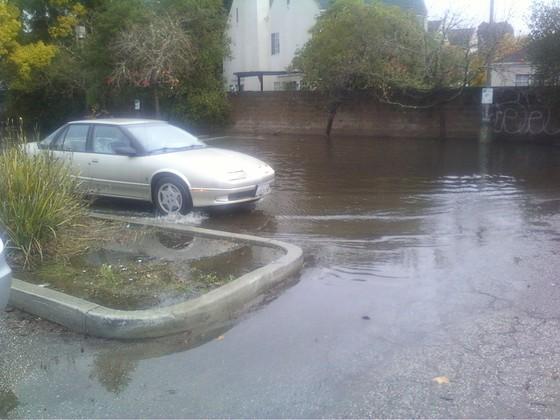 Flooding in Santa Cruz