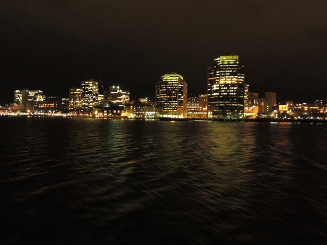 Halifax In The Nighttime November 13th 2013 Halifax, Nova Scotia Canada