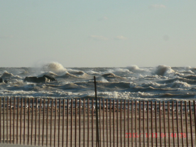 Lake Erie Waves Port Stanley, Ontario Canada