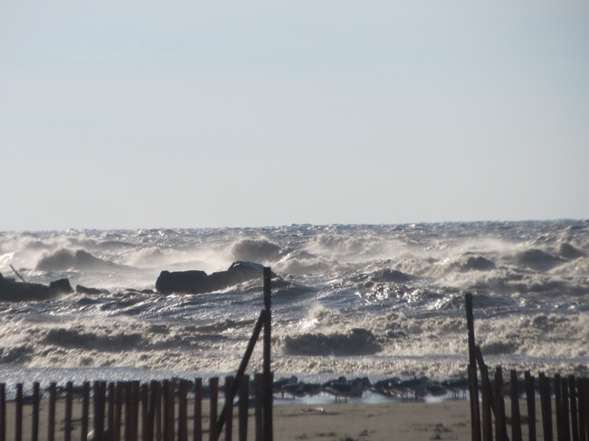 Wind and Waves, Lake Erie, Port Stanley, Ontario Port Stanley, Ontario Canada