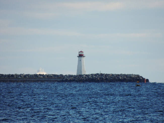 Lighthouse Spotted From Point Pleasant Park November 13th 2013 Halifax, Nova Scotia Canada