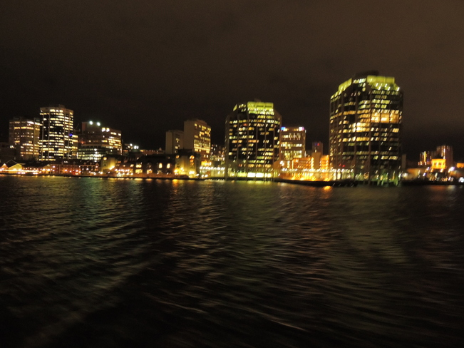 Halifax In The Nightime November 13th 2013 Halifax, Nova Scotia Canada