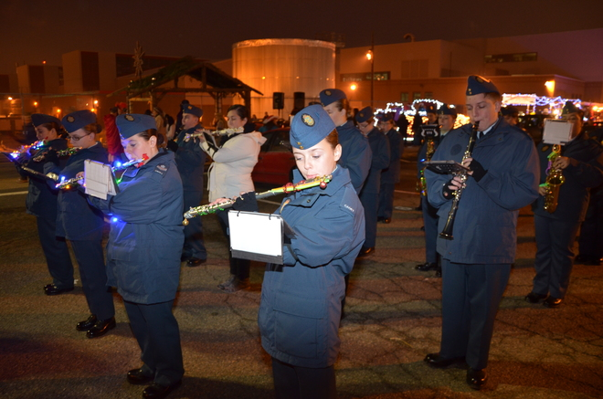 Air Cadets in Halifax Parade of Lights Halifax, Nova Scotia Canada