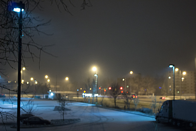 Winnipeg's first significant snow of the season,