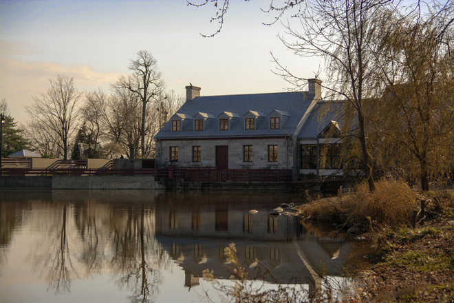 Belle journée de novembre Saint-Antoine-de-Lavaltrie, Quebec Canada