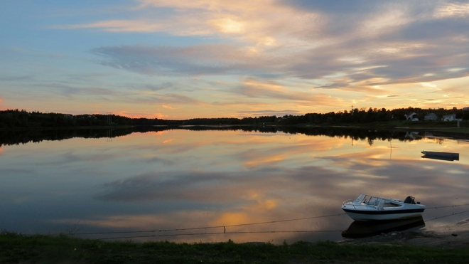 September Sunset Cocagne, New Brunswick Canada