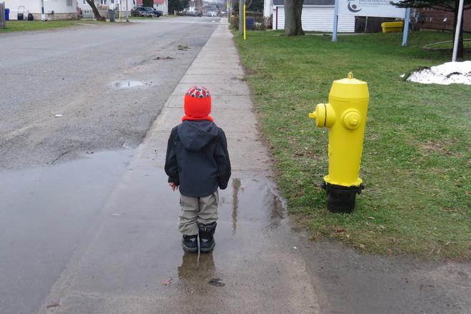 Ready for rain or snow Timmins, Ontario Canada