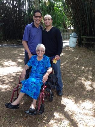 Nana, Grandson and Great Grandson