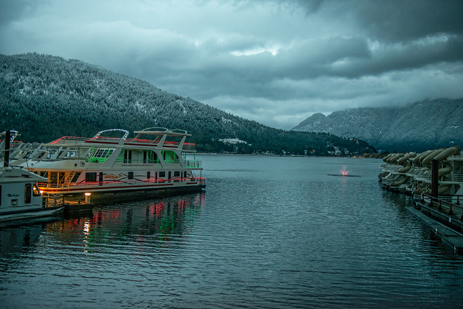 Cold weather comin' Sicamous, British Columbia Canada