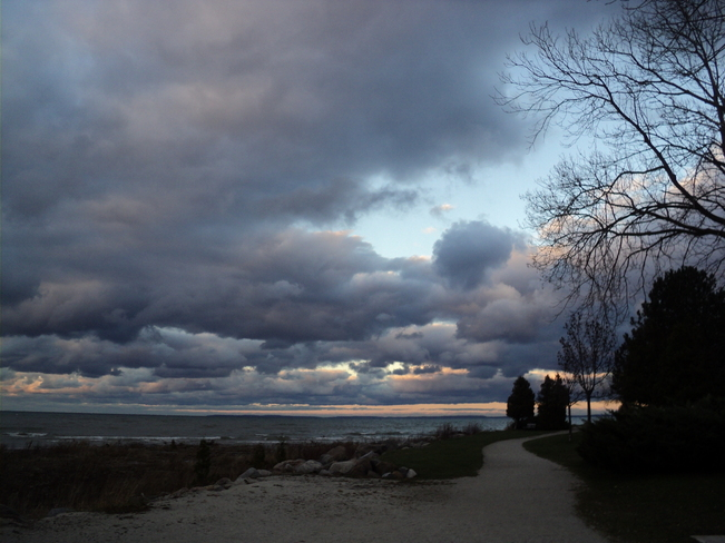 ANGRY SKIES Collingwood, Ontario Canada