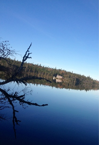 beautiful day at the cabin Daniel's Harbour, Newfoundland and Labrador Canada