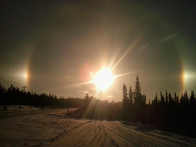sundog Whitehorse, Yukon Canada