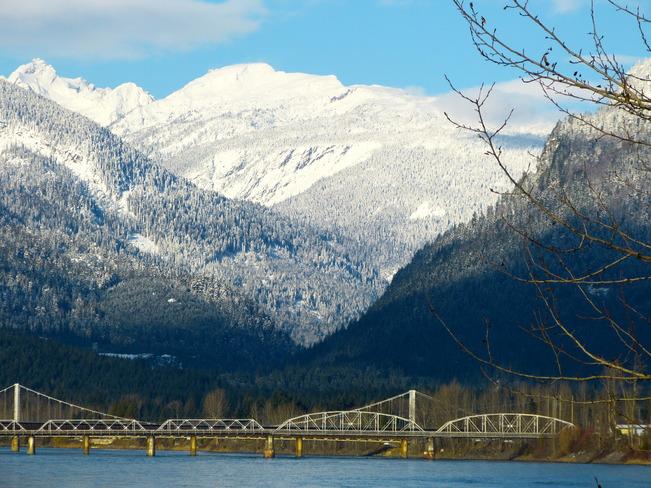 winter walking Revelstoke, British Columbia Canada