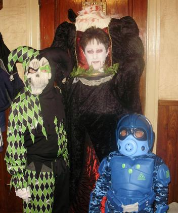My family halloween 2012