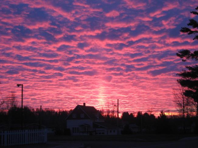 Purple Haze Sunrise Saint-Léonard, New Brunswick Canada