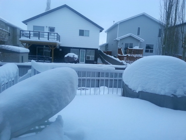 More Snow in the Park!!! Sherwood Park, Alberta Canada