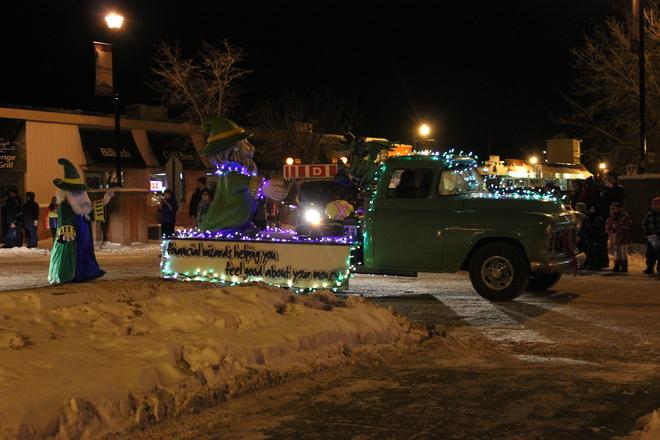 Santa Parade Hinton, Alberta Canada
