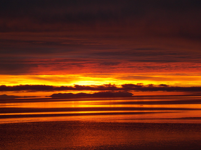 Morning Sunrise Campbell River, British Columbia Canada