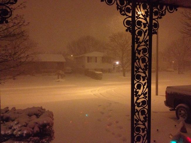 A Snowy Night St. Thomas, Ontario Canada