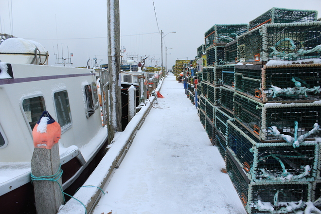 shag harbour wharf scenes before the lobster season opens Yarmouth, Nova Scotia Canada