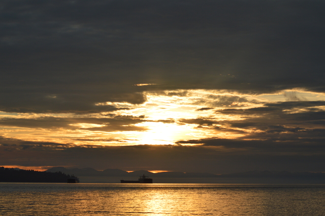 Sunset West Vancouver, British Columbia Canada