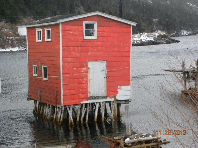 Fishing Stage Rose Blanche-Harbour Le Cou, Newfoundland and Labrador Canada