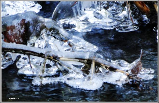 Icy Cold Brook Canning, Nova Scotia Canada