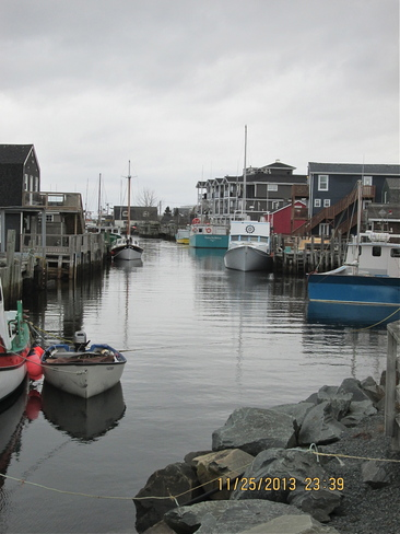 Ready for fishing Eastern Passage, Nova Scotia Canada