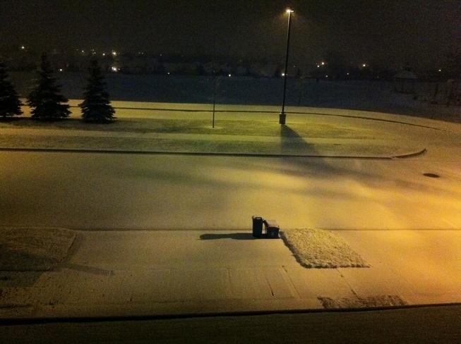 Light Snow Oshawa, Ontario Canada